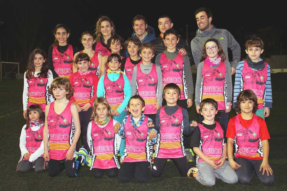 WECO Elevator Products is the official sponsor of the Sant Feliu Corre Junior – Athletics team